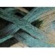 Knitting Fever Flounce-17 Tan, Teal, Black