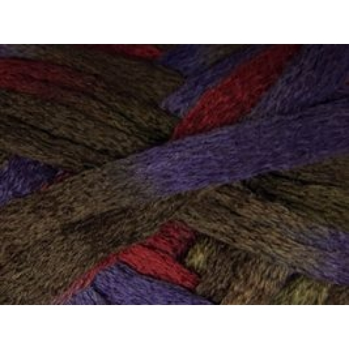 Knitting Fever Patterns : Knitting fever flounce purple burgundy brown