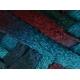 Knitting Fever Flounce-19 Turq, Blue, Burgundy