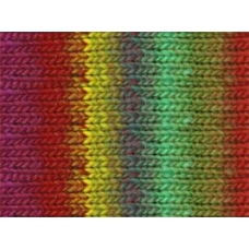 Noro Kureyon-272 Reds, Purple, Mint, Yellow