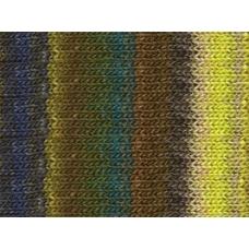 Noro Silk Garden-297 Brown, Yellow, Green
